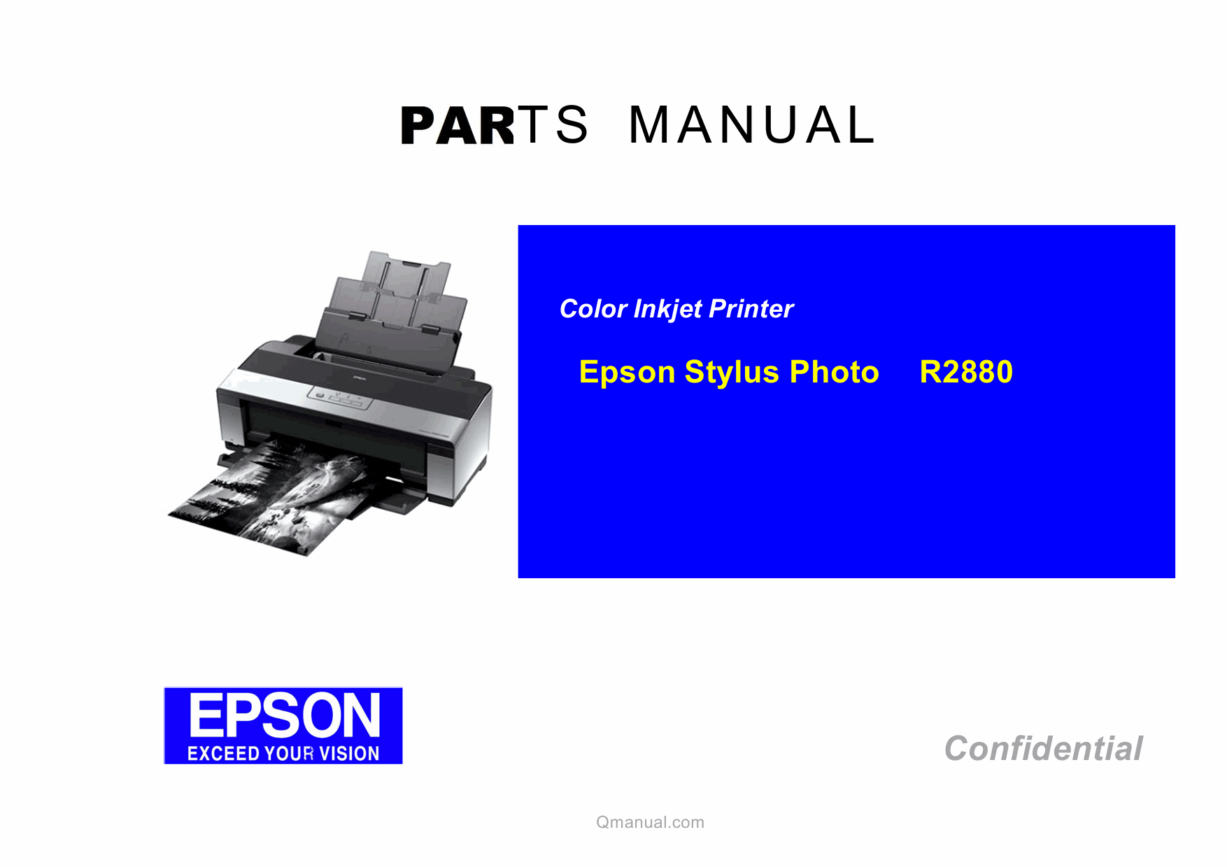 EPSON StylusPhoto R2880 Parts Manual-1